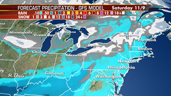 Mix of rain and snow to fall over parts of Northern Plains, Midwest and Great Lakes