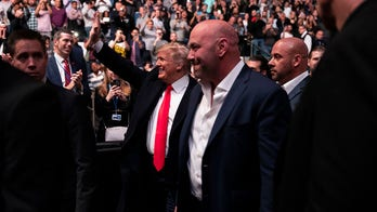 Trump cheered (and booed) at UFC match in New York City