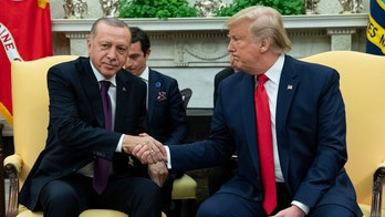 Trump, Erdogan meet at White House amid strained relations, impeachment inquiry