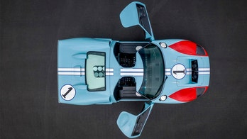 Christian Bale's GT40 from 'Ford v. Ferrari' is racing to the auction block