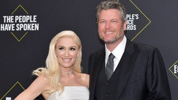 Blake Shelton poked fun at his 'new fiancee' during People's Choice acceptance speech