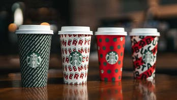 Starbucks 'Merry Coffee' cups look a lot like Christmas - without saying it