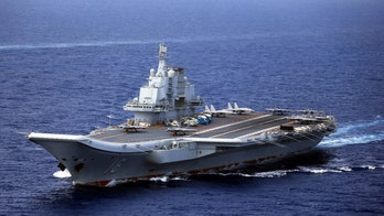 China sails carrier fleet through Taiwan Strait in apparent message days after US warship crossed