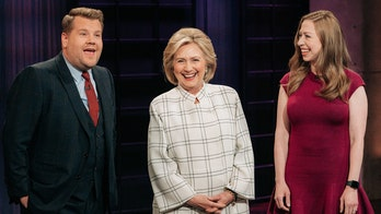 Hillary Clinton roasts Donald Trump, Sean Spicer while crashing James Corden's opening monologue