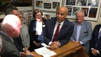 Booker says it doesn't bother him that friend Deval Patrick is getting in 2020 race