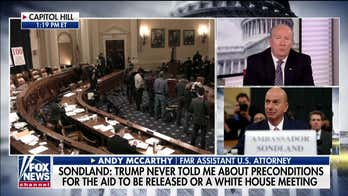 Andy McCarthy: 'There's a flaw in Schiff's theory' of bribery by Trump