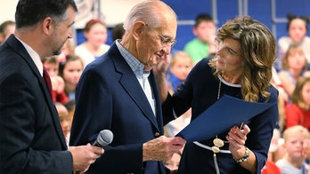 Virginia veteran, 93, who dropped out of high school to fight in WWII, gets honorary diploma