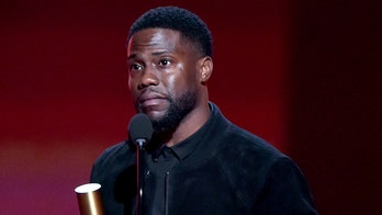 Kevin Hart thankful to be alive during first public appearance since near-fatal car accident