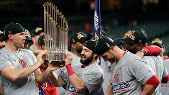 Washington Nationals to visit White House on Monday to celebrate World Series title
