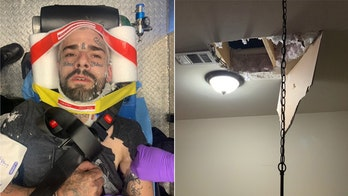 Tennessee burglary suspect injured after falling through attic trying to hide from officers, police say