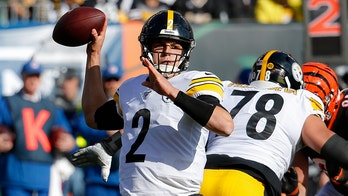 Pittsburgh Steelers' Mason Rudolph denies racial-slur allegation after getting benched in win