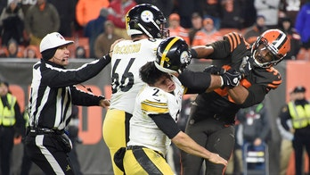 Mason Rudolph 'happy to hear' Myles Garrett out after helmet-swinging incident ahead of Week 17 game