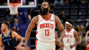 Rockets' James Harden cleared to play, makes Disney practice debut