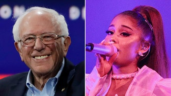 Ariana Grande touts Bernie Sanders as 'MY GUY' after he attends her show