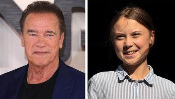 Arnold Schwarzenegger rides bikes with Greta Thunberg: She's 'one of my heroes'