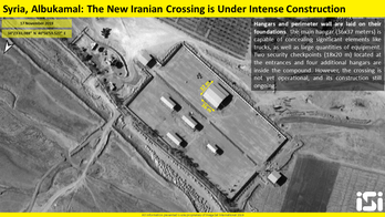 Iran continuing construction on army base along Iraq-Syria border, images show