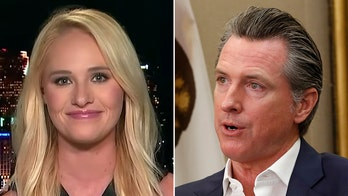 'Absolute disgrace': Tomi Lahren slams California Gov. Newsom after he skips funeral of deputy killed by illegal immigrants