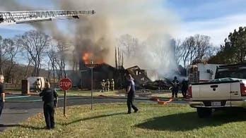 Home destroyed in West Virginia blast