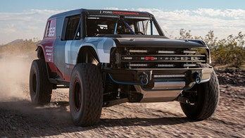 First look: 2021 Ford Bronco revealed as Baja 1000 racing truck