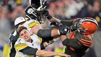 Pittsburgh Steelers' Mason Rudolph fined $50G by NFL for role in helmet-swinging fight, report says