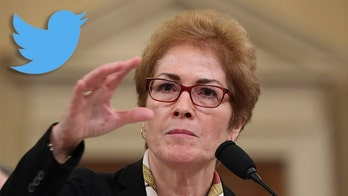 Twitter reportedly cracks down on users tweeting 'I hired Donald Trump to fire people like Yovanovitch'