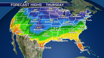 Colder arctic air set to move into much of the country