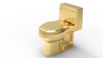 Golden toilet worth more than a $1 million may break world record