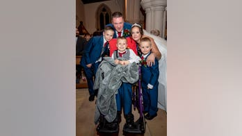 Couple weds after learning son, 8, has weeks to live