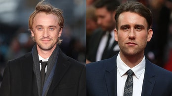 'Harry Potter' stars Tom Felton, Matthew Lewis appear to have opposing views on aging: 鈥楽peak for yourself鈥�