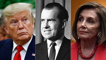 Pelosi says Trump's actions make Nixon's Watergate crimes look 'small'