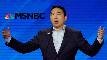 Yang campaign rips MSNBC's apology after network snubbed him from polling graphic 'for the 15th time'