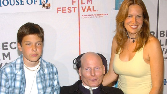 鈥楽uperman鈥� actor Christopher Reeve's son remembers him 15 years after his death: 'He had an impact'