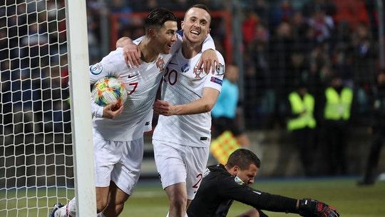 Ronaldo stuck on 99 goals but Portugal through to Euro 2020