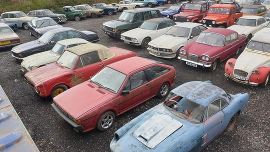 Huge car collection up for auction after barn discovery
