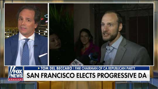 Tom Del Beccaro on San Francisco's new district attorney: 'The city is going much farther left'