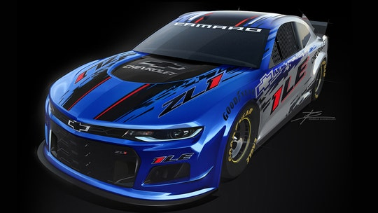 Chevrolet unveils new NASCAR Camaro ZL1 1LE for 2020