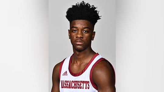 UMass guard Sean East hits amazing shot from other end of court