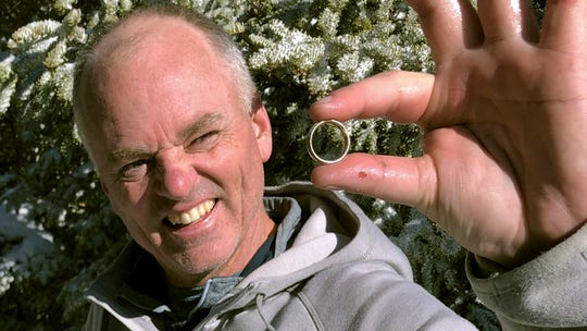 New Hampshire hiker's plea for help finding lost wedding ring on mountain has surprise ending