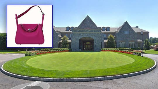 New Jersey country club claims $30G wine-stained Hermes bag is fake