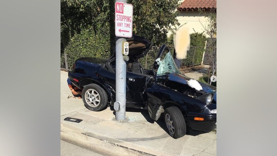California teen crashes car 6 hours after getting license