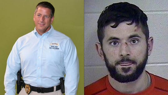 Ex-Missouri police chief who rescued baby in pond accused of attacking handcuffed man