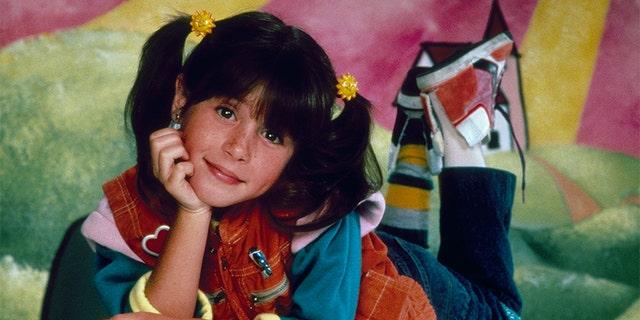 Soleil Moon Frye as Penelope 'Punky' Brewster in the '80s.