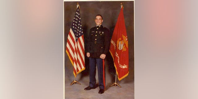 Yonel Dorelis as a young Marine. (Courtesy of Yonel Dorelis)