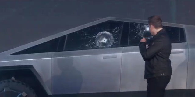 Pickup Truck Bed >> Tesla Cybertruck pickup revealed with bulletproof body and ...