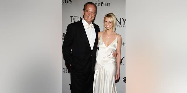Kelsey Grammer, left, and Kayte Walsh arrive at the 65th Tony Awards, Sunday, June 12, 2011 in New York.