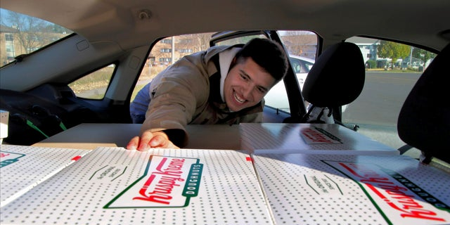Jayson Gonzalez, 21, would drive to the nearest Krispy Kreme roughly four hours away and pack his car full of boxes of doughnuts to then drive the four hours back and serve them to his Twin Cities-area customers.