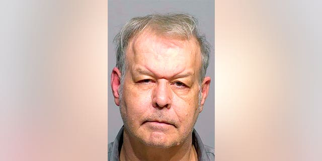 Clifton Blackwell, 61, is suspected of splashing battery acid on a Hispanic man's face last Friday.