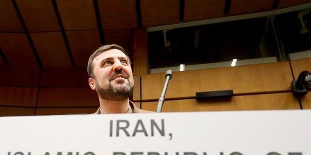 Iran's Ambassador to the International Atomic Energy Agency, Gharib Abadi, in Vienna, Austria.