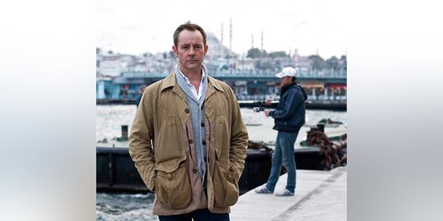James Le Mesurier stands near the Golden Horn in this undated file photo, in Istanbul. (AP Photo/File)