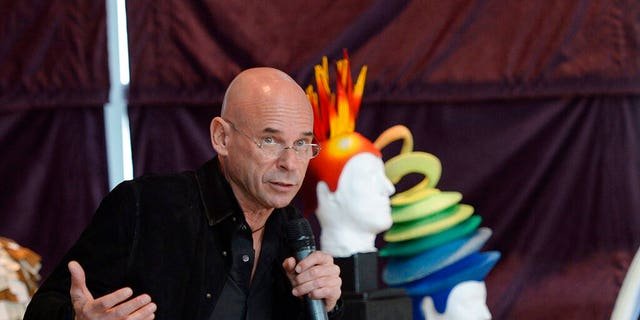 FILE: Cirque du Soleil founder Guy Laliberte speaks at a news conference in Montreal.